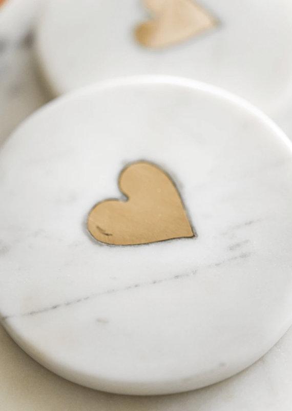 Indaba Trading Co. Sweet Heart Coaster