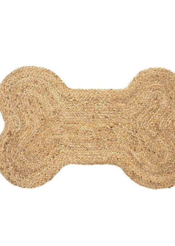 Indaba Trading Co. Dog Bone Pet Mat, L
