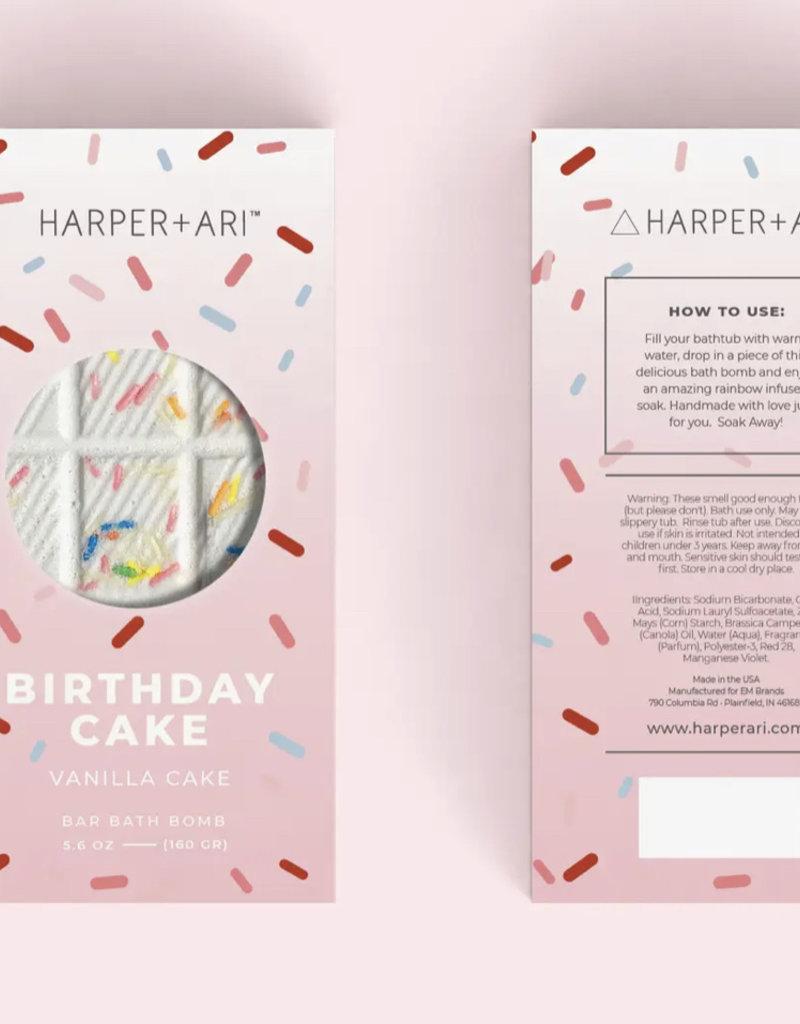 Harper + Ari Happy Birthday Bar Bomb