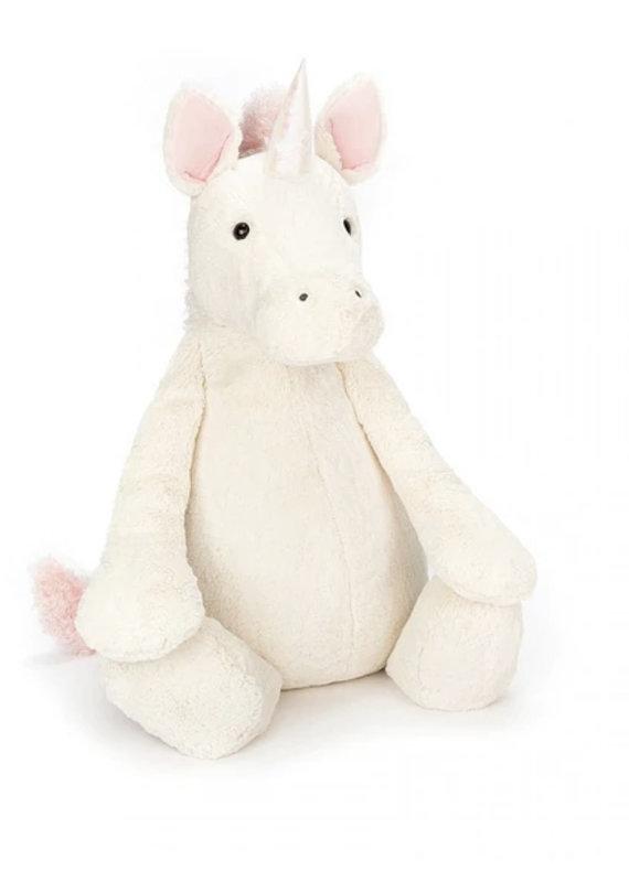 "Jellycat Inc. Bashful Unicorn Huge, 20"" tall"