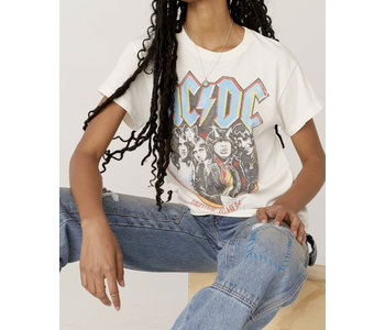 AC/DC Highway To Hell Tour Tee, Vintage White