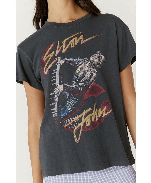 Elton John Live Tour Tee, Vinatge Black