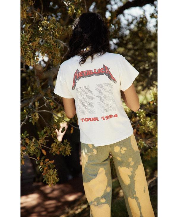 Metallica 1994 Reverse Girlfriend Tee, Vintage White