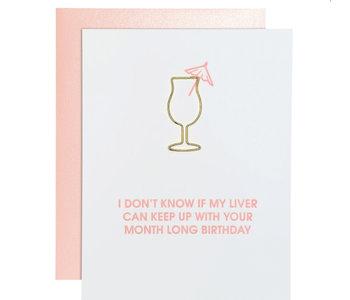 Month Long Birthday Card
