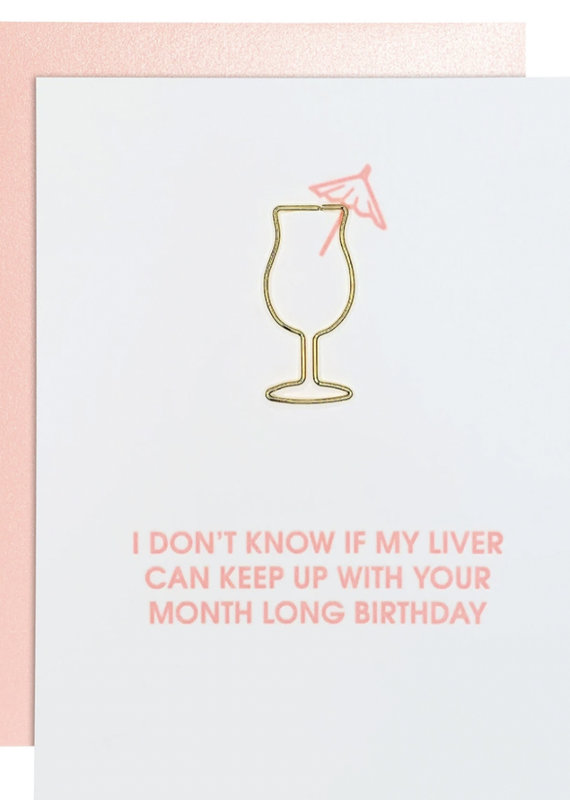 Chez Gagne Month Long Birthday Card