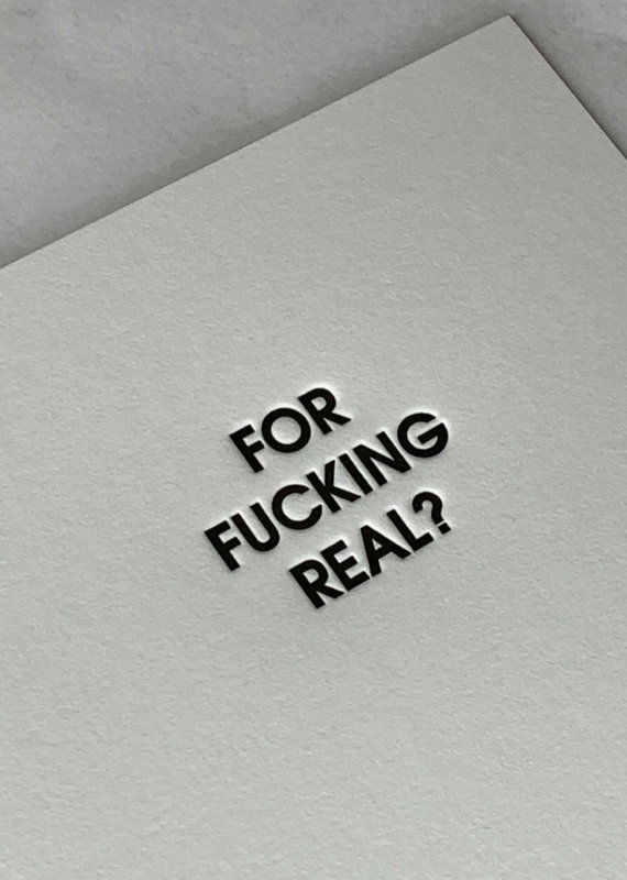 Chez Gagne For F***ing Real Card