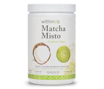 Matcha Misto + TruMarine® Collagen Jar