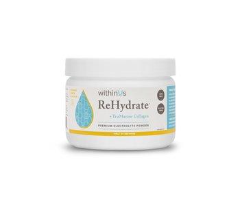 ReHydrate + TruMarine Collagen Jar, Lemon