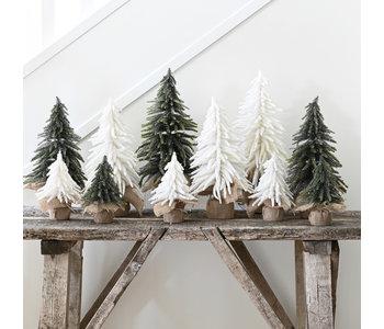Festive Fir Tree, Snow White