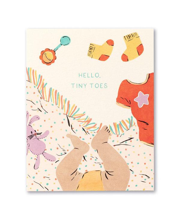 Hello Tiny Toes Card