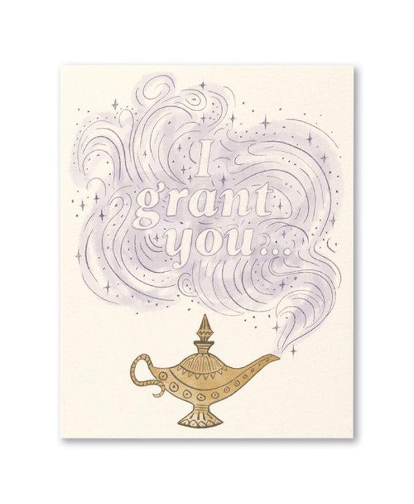 I Grant You Card