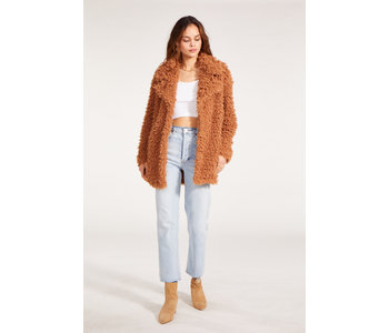 What's the Fuzz About Jacket, Camel