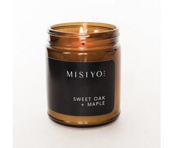 Sweet Oak + Maple Candle