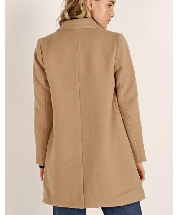 Whiskey Business Coat, Light Camel