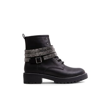 Chained Boot, Black