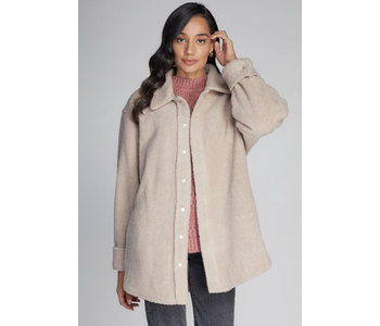 Button Down Pile Shacket