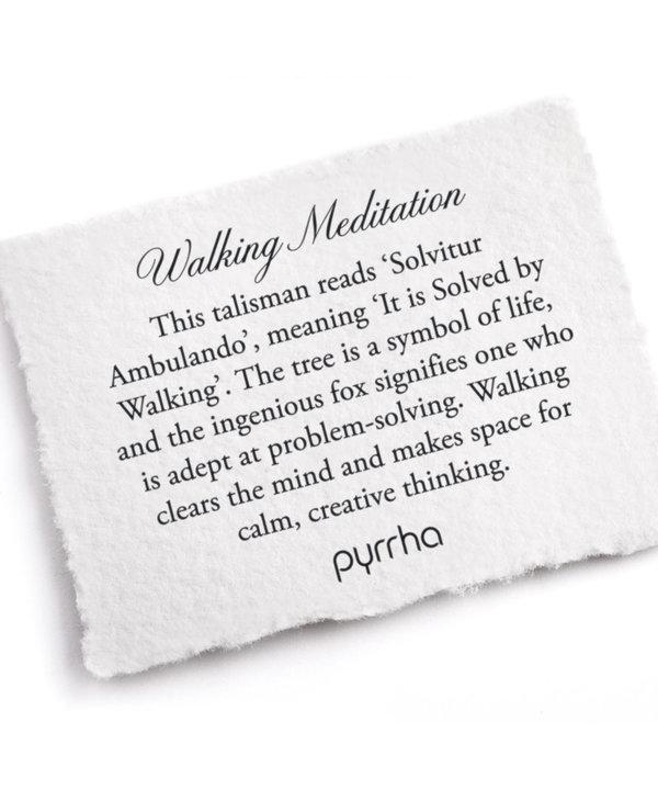 "Walking Meditation 18"" Sterling Silver"