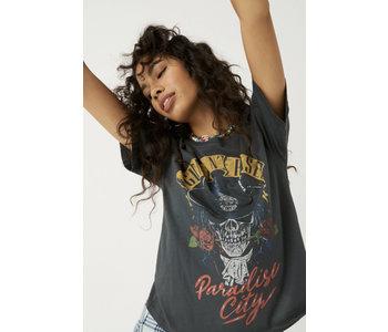 Guns N' Roses Paradise City Boyfriend Tee, Vinatge Black