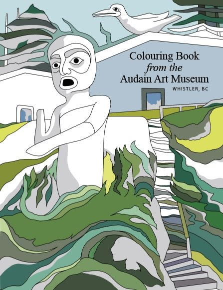 AAM Collection Colouring Book from the Audain Art Museum