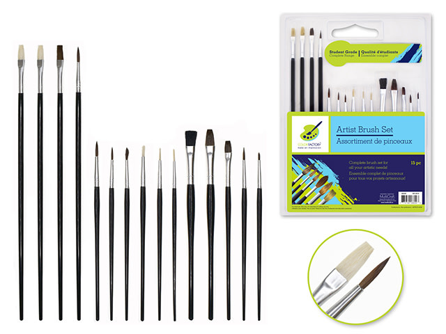 Artist Brush Set - Student Grade