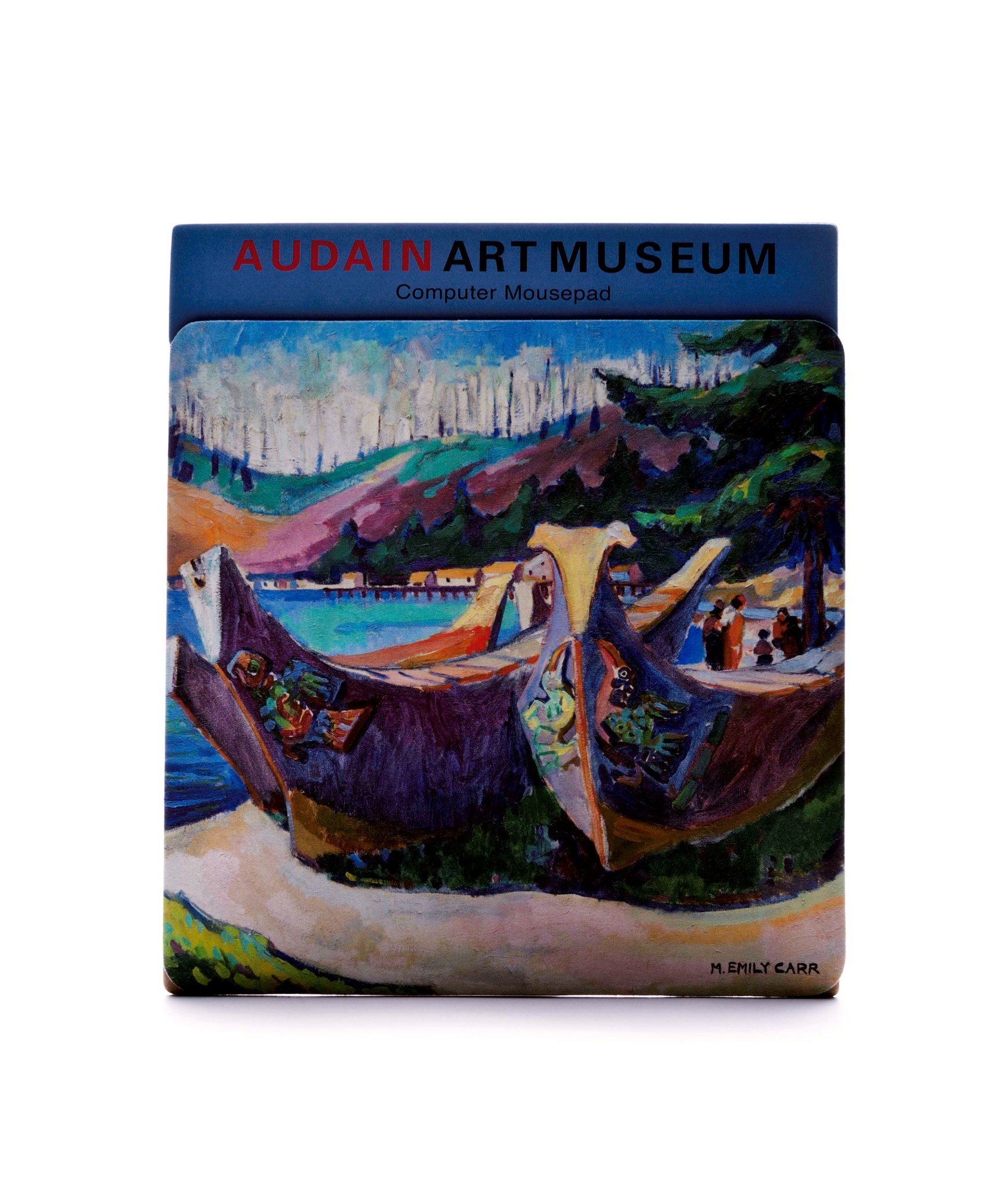 AAM Collection Mouse Pad - War Canoe - Emily Carr