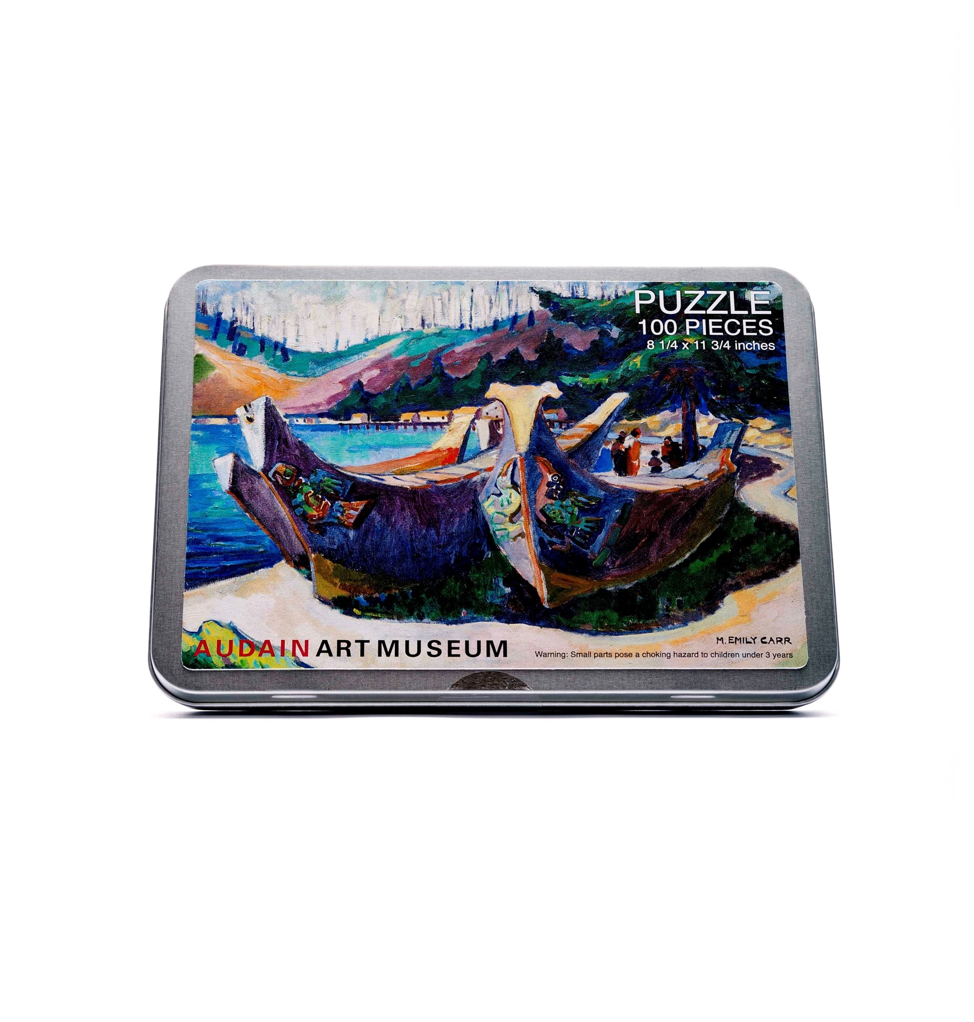 AAM Collection Puzzle - War Canoes - Emily Carr