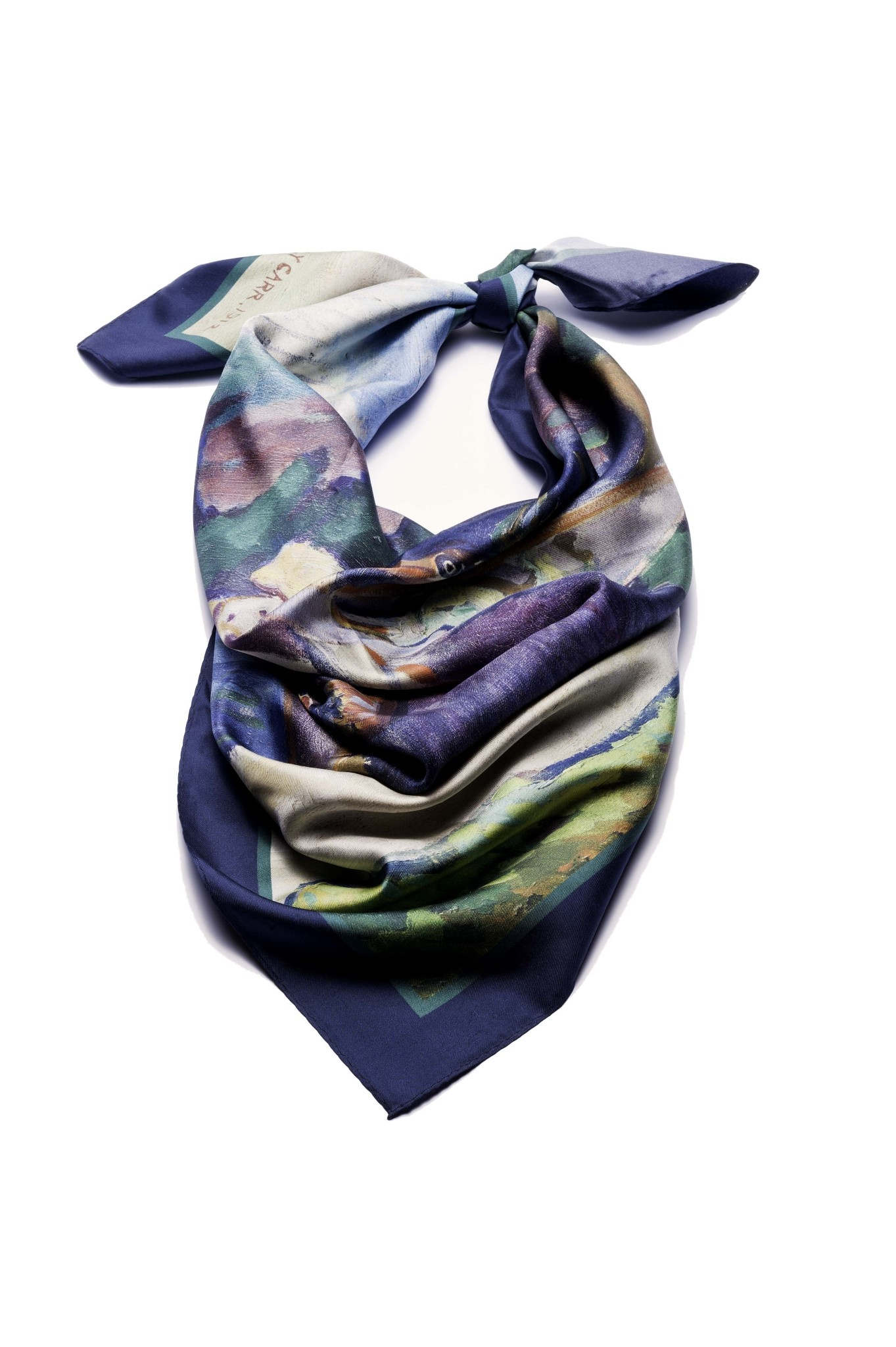 AAM Collection Silk Scarf - War Canoes - Emily Carr