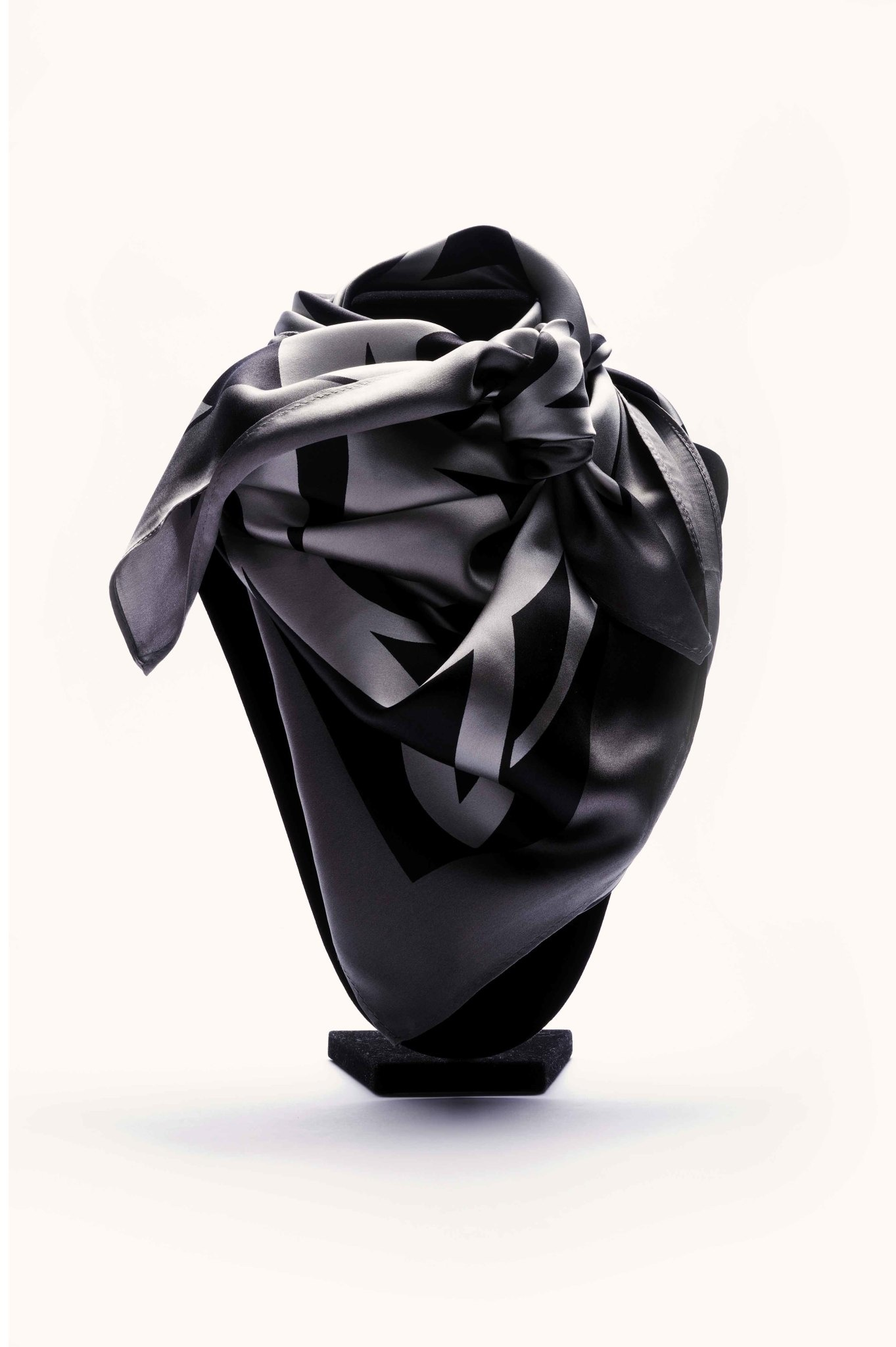 AAM Collection Silk Scarf - Big Flood - Xwalacktun
