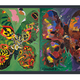 AAM Collection Silk Scarf - Butterfly Transformation Theme 1981 - Jack Shadbolt