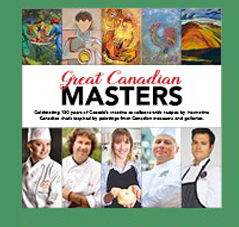 Great Canadian Masters Cookbook Vol 1