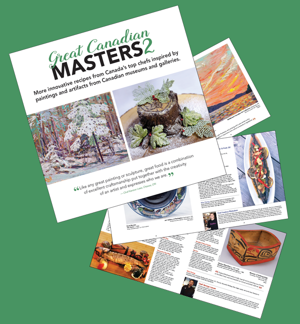 Great Canadian Masters Cookbook Vol 2
