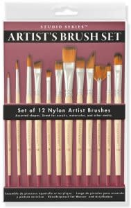 Studio Series Artist Paintbrush Set