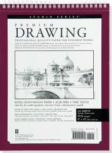 Premium Drawing Pad 8x10""
