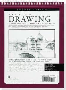 """Premium Drawing Pad 9x12"""""""
