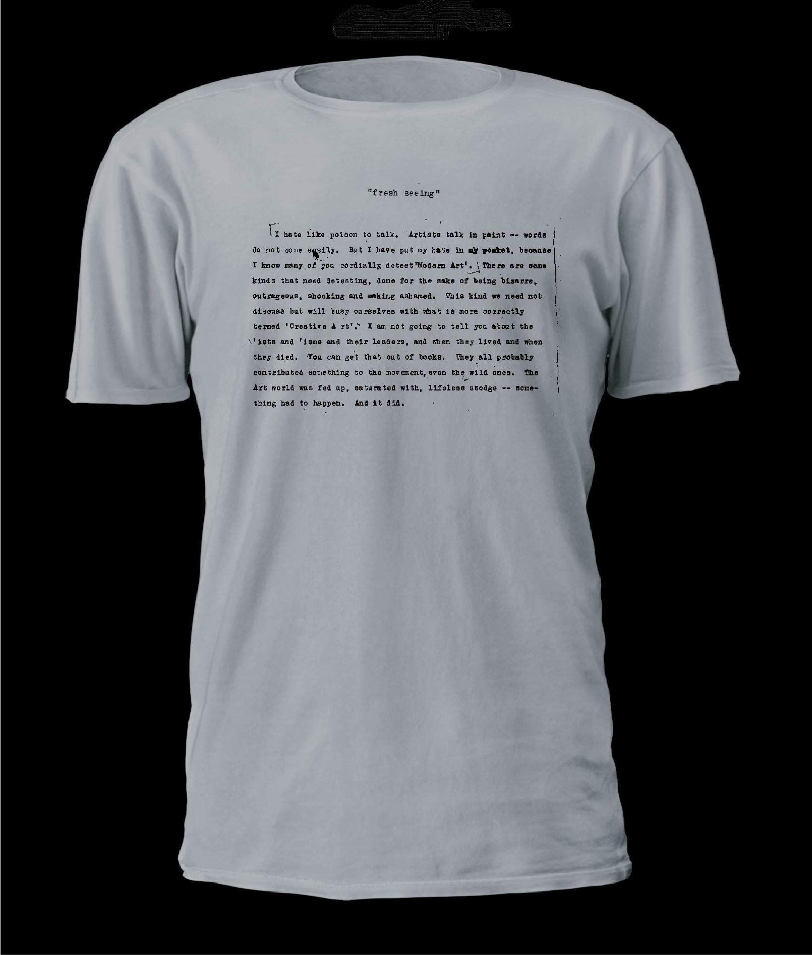 T-Shirt Emily Carr - Fresh Seeing