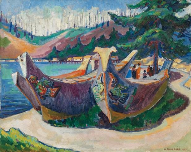 AAM Collection Emily Carr Sketch Book