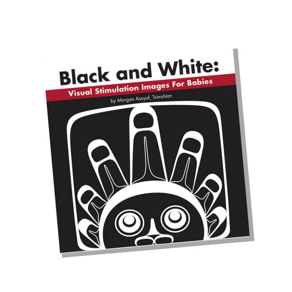 Board Book - Black & White: Visual Stimulation for Babies