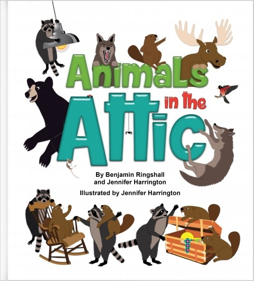 Eco Books 4 Kids - Jennifer Harrington Animals in the Attic
