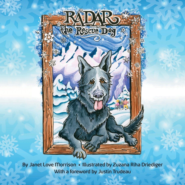 Janet Love Morrison Radar The Rescue Dog