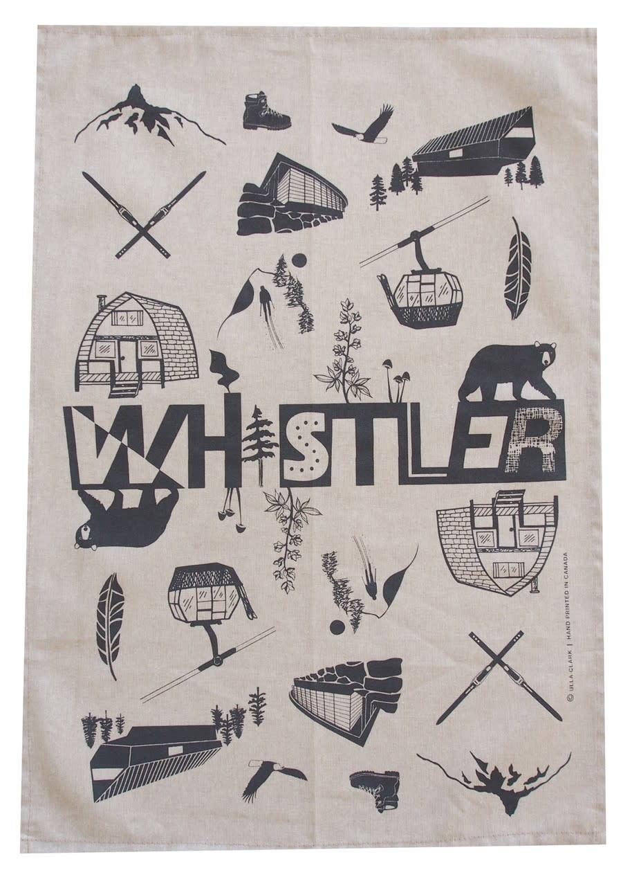 Whistler Teatowel
