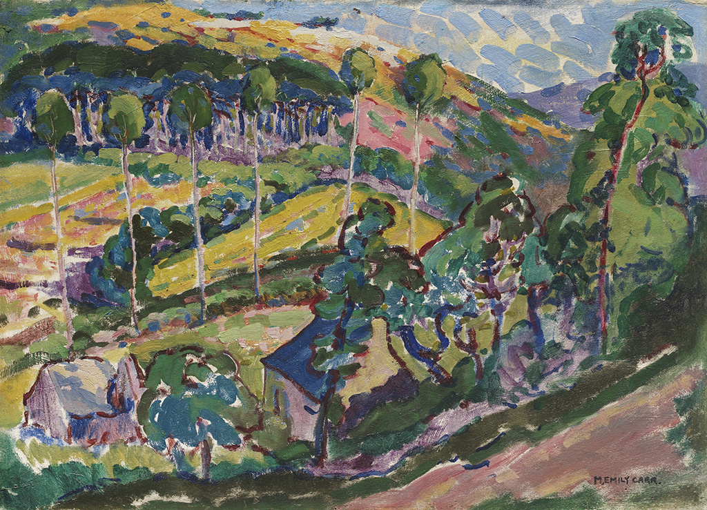 Face Covering - Emily Carr - Le Paysage