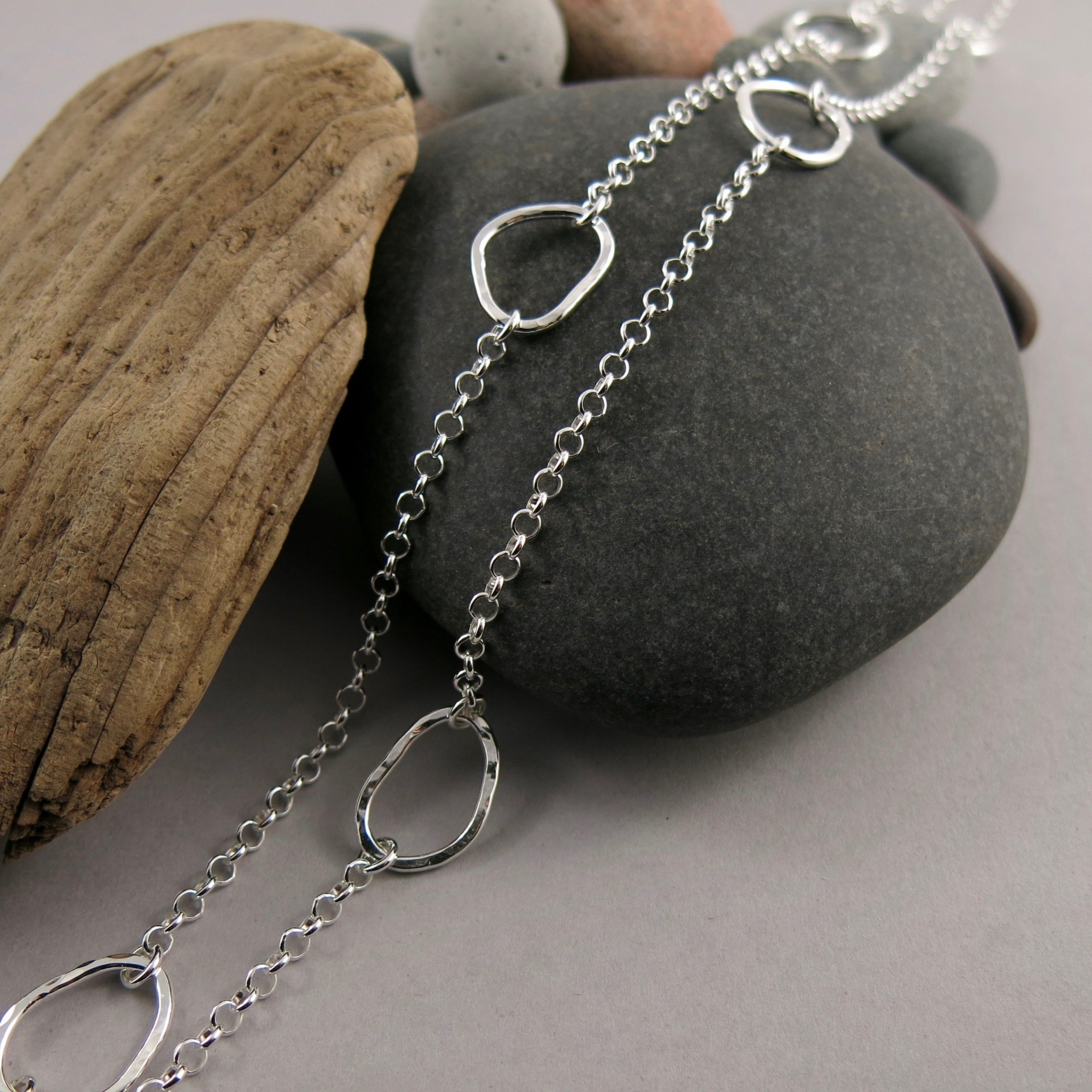 Mikel Grant Jewelry Coast Long Chain Necklace