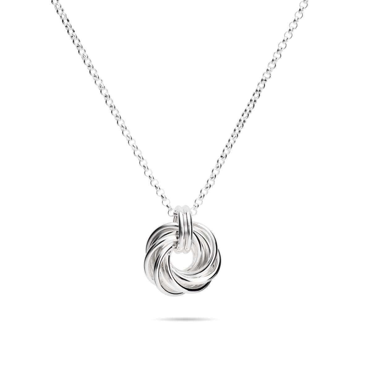 Mikel Grant Jewelry Love Knot Necklace