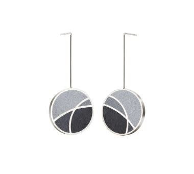 Konzuk March Balloons - Concrete Drop Earrings 3