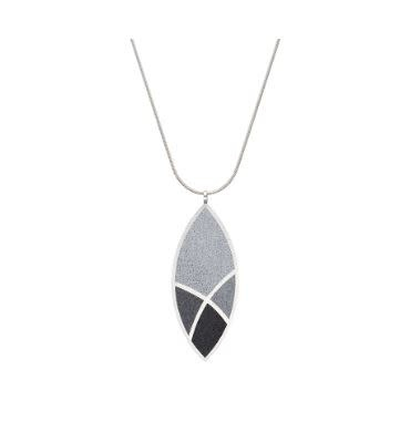 Konzuk March Balloons - Leaf Concrete Necklace 3