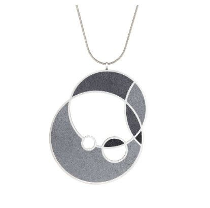 Konzuk March Balloons - Medium Concrete Necklace