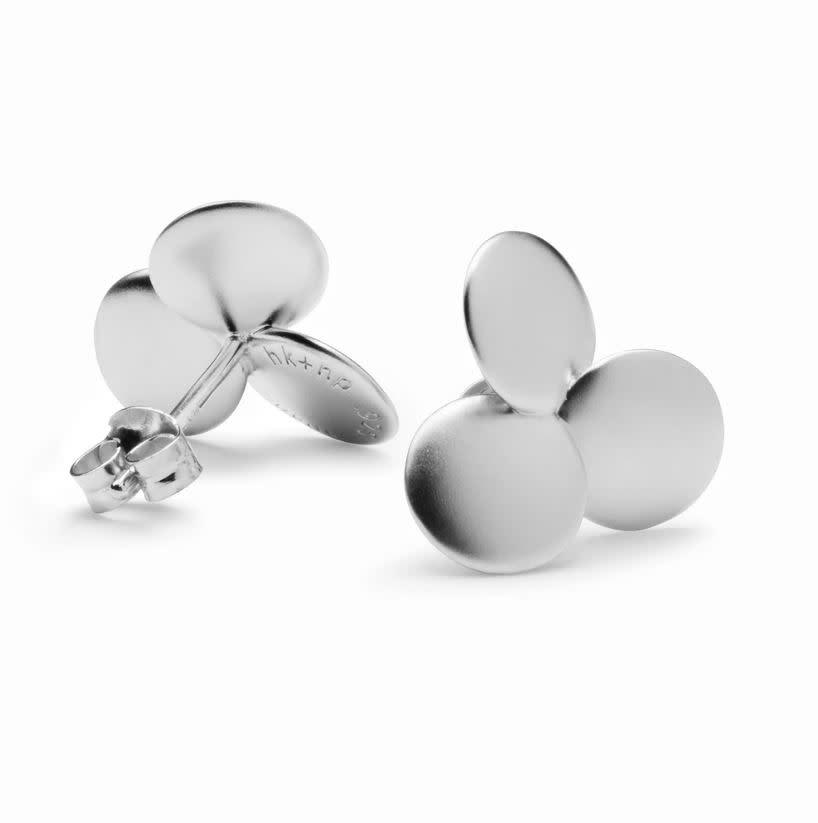 HK + NP Earrings - Clover
