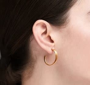 HK + NP Earrings - Twist Gold Vermeil