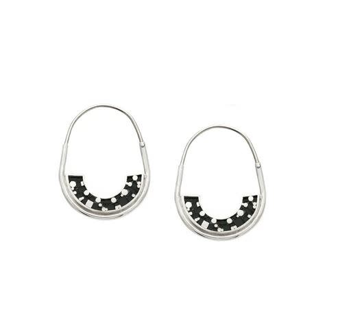 Erica Leal - CCBC Earrings - Frances Hoops