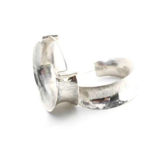 Paprika Design - CCBC Earrings - Dane Hoop - Sterling Silver